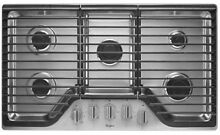Whirlpool WCG51US6DS 36  Stainless 5 Burner Gas Cooktop  31848 MAD