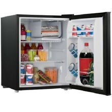 Fridge Mini Refrigerator 2 7 Ft Cu Cooler Beverage Compact 1 Freezer Black Dorm