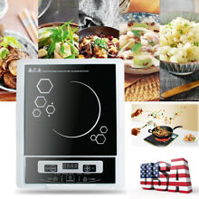 USA Digital 2000W Electric Induction Cooktop Cooker Countertop Burner Machine CE