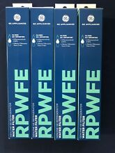 GE RPWFE GENUINE WATER FILTER PACK OF 4 UNITS  FREE SHIPPING  49 99 EA