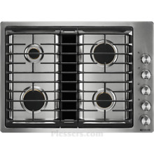 Jenn Air JGD3430GS 30  Stainless Downdraft Gas Cooktop  26247 CLW