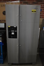 Whirlpool WRS321SDHZ 33  Stainless Side By Side Refrigerator NOB  38977 CLN