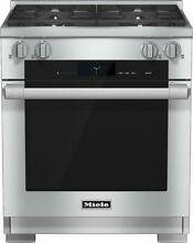 Miele HR1924DFLP 30  Stainless LP Dual Fuel Freestanding Range NEW  13798 MAD