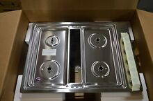 Kitchenaid KCGD500GSS 30  Stainless Gas Downdraft Cooktop NOB  23706 MAD
