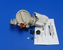 280187 Whirlpool Duet Washer Drain Pump   Filter Genuine OEM complete motor pump