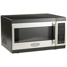 Stainless Steel Microwave Oven Magic Chef MCD1310ST 1 3 Cubic Feet