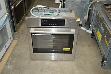 Bosch 800 HBN8451UC 27  Stainless Single Electric Wall Oven NOB  17064 MAD
