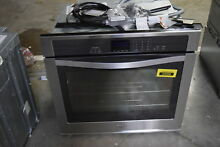 Whirlpool WOS51EC0AS 30  Stainless Single Electric Wall Oven NOB  30901 CLW