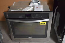 Whirlpool WOS51EC0AS 30  Stainless Single Electric Wall Oven NOB  30862 CLW