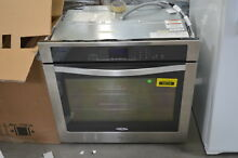 Whirlpool WOS51EC0AS 30  Stainless Single Electric Wall Oven NOB  33121 MAD