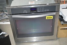 Whirlpool WOS51EC0AS 30  Stainless Single Electric Wall Oven NOB  31022 HRT