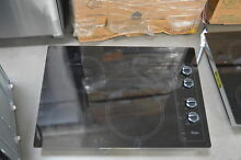 Whirlpool W5CE3024XB 30  Black Electric Smoothtop Cooktop NOB  27837 HL