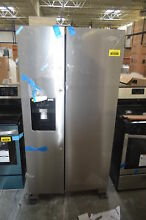 Whirlpool WRS325SDHZ 36  Stainless Side by Side Refrigerator NOB  28947 HL