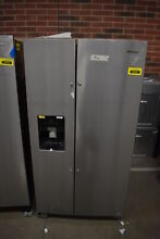 Whirlpool WRS325SDHZ 36  Stainless Side By Side Refrigerator NOB  39367 HRT