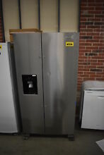 Whirlpool WRS325SDHZ 36  Stainless Side By Side Refrigerator NOB  38208 CLN