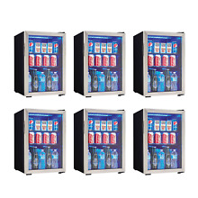 Danby 95 Can 2 6 Cu  Ft  Free Standing Beverage Center  Stainless Steel  6 Pack