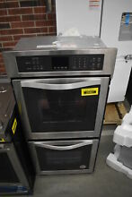 Whirlpool WOD51ES4ES 24  Stainless Electric Double Wall Oven NOB  39467 HRT