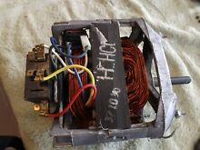 Maytag Speed Queen Washer Motor 201805  12002351  6 2016640 14 No shaft end play