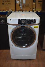 GE GFD49GRSKWW 28  White Front Load Gas Dryer NOB  39598 HRT