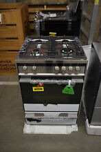 Fisher Paykel OR24SDMBGX2 24  Stainless Pro Style Gas Range NOB  39656 HRT