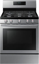 Samsung NX58H5600SS 30  Stainless Freestanding Gas Range Convection  32368 HRT