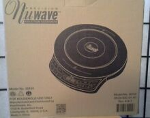 PRECISION NUWAVE PRO INDUCTION 12  COOKTOP MODEL 30101 W COOKBOOK