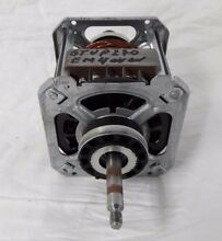 GE Laundry Center Combo Dryer drive motor and pu Part  WE17X22217