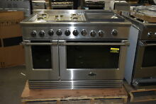 DCS RGV2485GDN 48  Stainless Convection Natural Gas Range NOB  37858 HRT