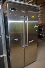 Viking VCSB5423SS 42  Stainless 5 Series Side by Side Refrigerator NOB  24195