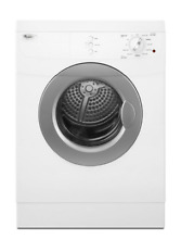 Whirlpool WED7500VW Compact Stackable Electric Front Load Dryer with 11 cycles