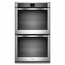 Whirlpool WOD51EC0AS 30  Stainless Steel Electric Double Wall Oven