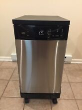 SPT SD 9241 SS Energy Star 18 Portable Dishwasher   Stainless Steel