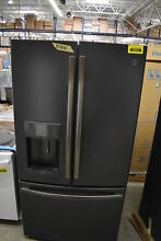 GE DFE28JELDS 36  Black Slate French Door Refrigerator NOB  39824 HRT