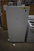 GE FUF14SMRWW 28  White 14 1 Cu  Ft  Upright Freezer NOB  39910 HRT