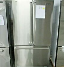 Viking 36  Professional Stainless Steel French Door Bottom Freezer Refrigerator