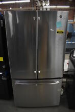 GE GNE27ESMSS 36  Stainless French Door Refrigerator  39699 HRT