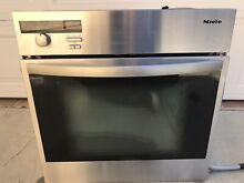 Miele 24  Stainless Steel Glass Door Built in Electric Ove  H 350 2 B  110 V