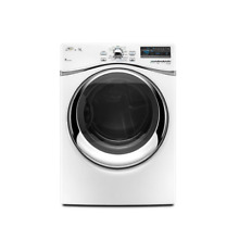 Whirlpool WGD95HEXW 27  White Front Load Gas Steam Dryer NOB  8418 MAD