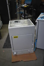 GE DSKS433EBWW 24  White Stackable Electric Vented Compact Dryer  39893 HRT