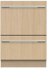 Fisher Paykel DD24DTI9N 24  Custom Panel Double Drawer Dishwasher NIB HRT