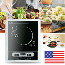 US Digital 2000W Electric Induction Cooktop Cooker Countertop Burner Machin