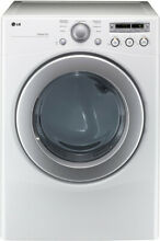 LG DLE2250W 27  White Front Load Electric Dryer NIB  9815 MAD