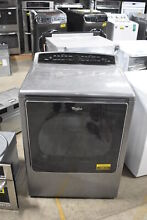 Whirlpool WED8500DC 29  Chrome Shadow Front Load Electric Dryer NOB  19514 MAD