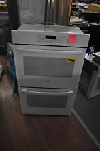GE JT3500DFWW 30  White Double Electric Wall Oven NOB  35379 HRT