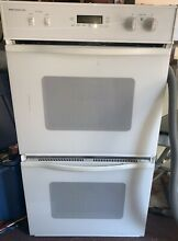 Jenn Air Electric Built In Double Wall Oven White WW27110W