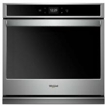 Whirlpool 27 in  Single Electric Wall Oven with Self Cleaning in Stainless Steel