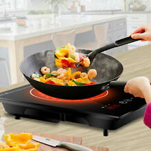 1800 Watt Portable Induction Cooktop Countertop Burner Temperature Control
