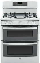 GE PGB950SEFSS 30  Stainless Gas Double Oven Convection Range NIB  4064 HRT