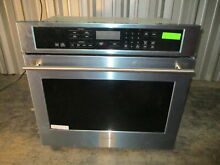 Monogram 30  Single Electric Wall  Oven ZET9050SHSS Convection Stainless Steel a