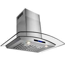 AKDY 30  Europe Exhaust Stainless Steel Glass Wall Range Hood Stove Vent RH0034